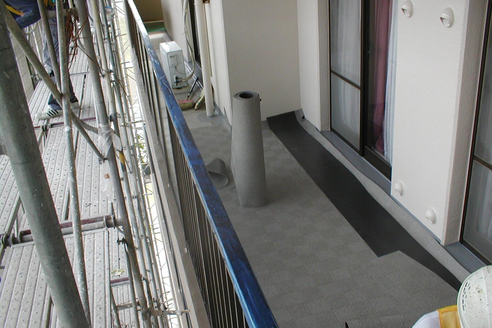 床シート貼り01